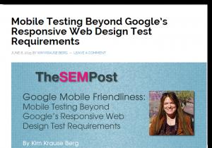 SEMPOST article screenshot